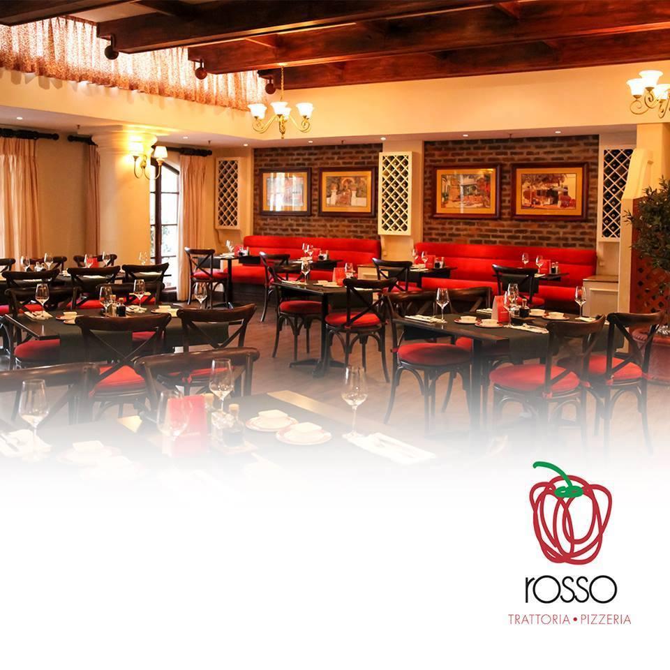 Rosso Trattoria Pizzeria: Italian in adiner.